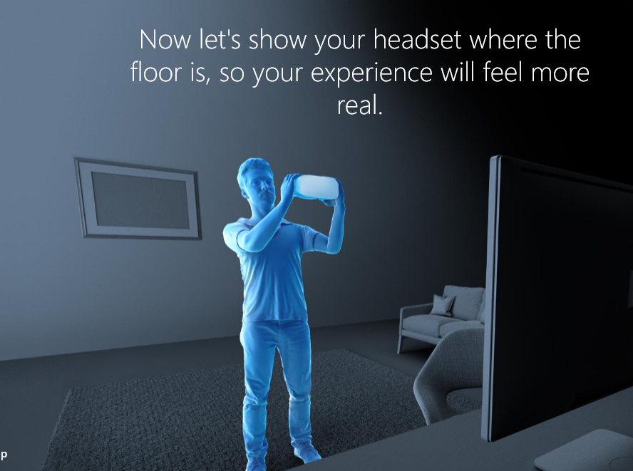 Detecting the floor.